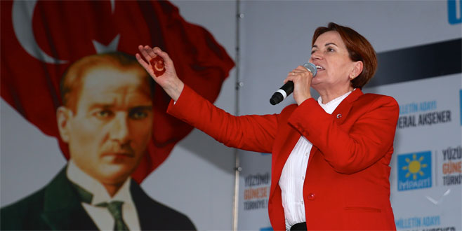 Meral Akşener bugün Bursa'da