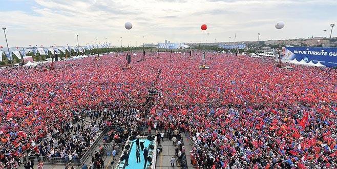 AK Parti'nin Yenikapı'daki mitingine katılan kişi sayısı açıklandı