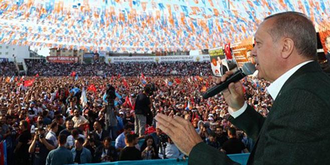 Cumhurbaşkanı Erdoğan: Bölgeyi aşama aşama terörden temizleyeceğiz