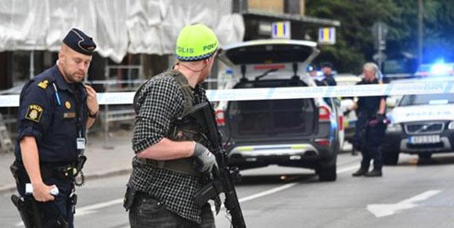 İsveç'te silahlı saldırı! Yaralılar var