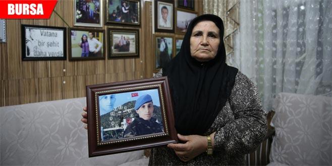 Saldırıya uğrayan şehit annesine AK Parti'li ve MHP'lilerden ziyaret
