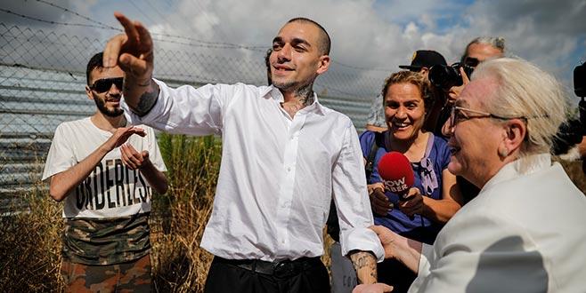 Ezhel cezaevinden çıktı! İşte ilk fotoğraf...