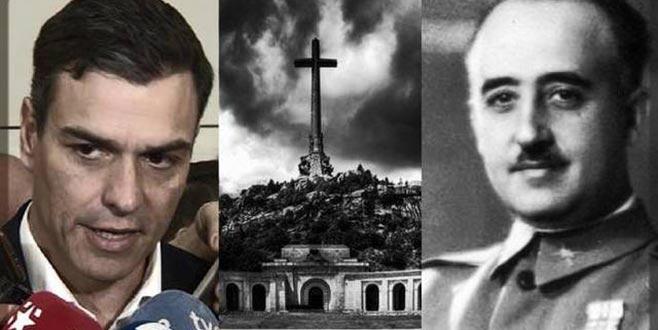 Diktatör Franco'nun izleri siliniyor