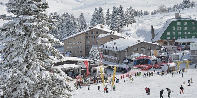 'Uludağ'a olimpik standartlarda kayak pisti yapılıyor'
