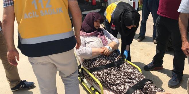 Bursa'da baltalı saldırı