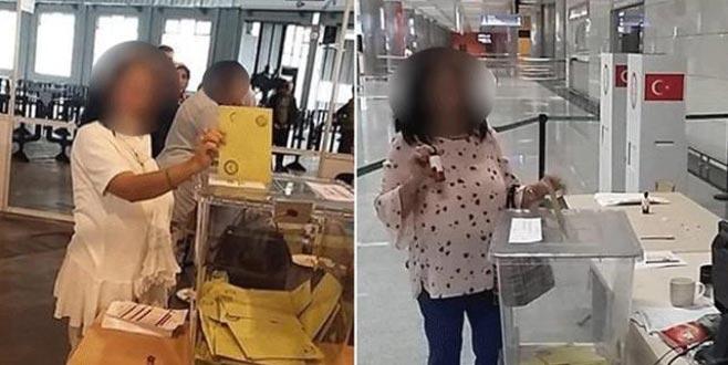 Mükerrer oy kullandığı iddia edilen kadın serbest bırakıldı