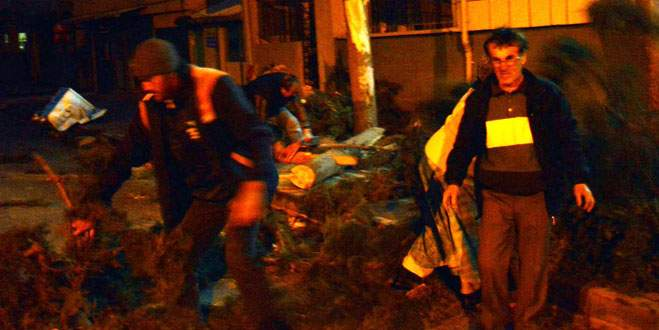 Lodos Bursa'yı zehirledi