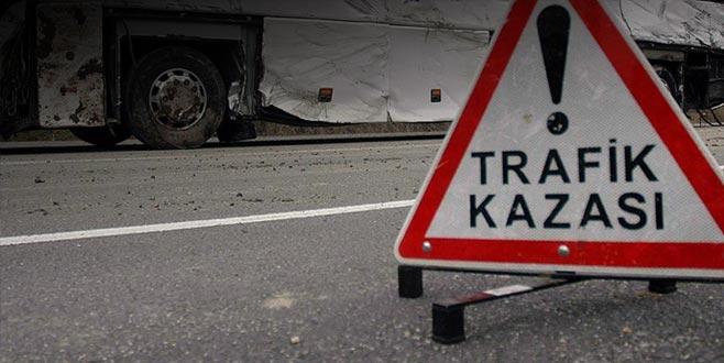 AK Parti üyelerini taşıyan otobüs kaza yaptı: 4 ölü, 13 yaralı