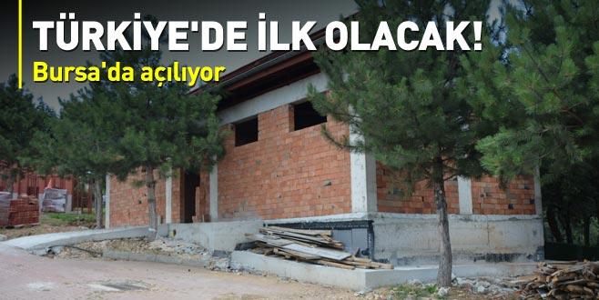 Türkiye'de ilk defa Bursa'da inşa edilecek