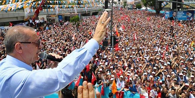 Erdoğan: İki önemli projemiz var