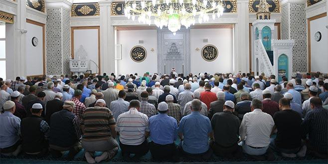 Demirtaş Merkez Camii ibadete açıldı