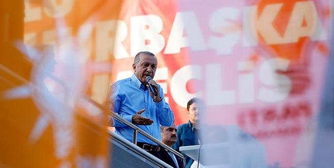 Cumhurbaşkanı Erdoğan: Şu anda 40 milyon turiste gidiyoruz