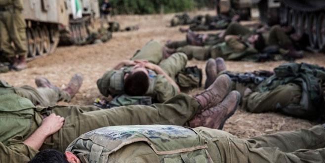 İsrail askerlerinin durumu vahim
