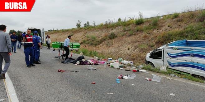 Kazada ölen tarım işçilerinin kimlikleri belli oldu