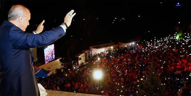 Yurtdışı seçmen 'Erdoğan' dedi