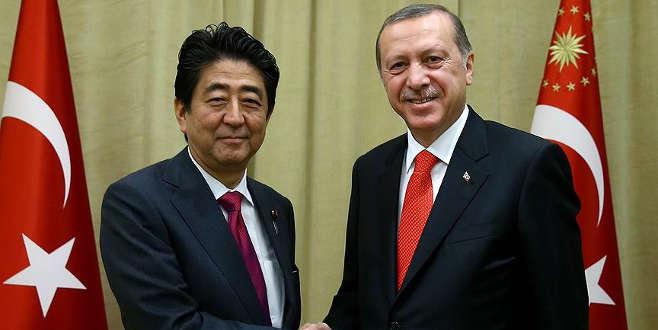 Japonya Başbakanı'ndan Cumhurbakanı Erdoğan'a tebrik