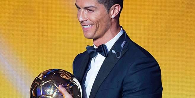 Altın Top Ödülü ikinci kez Ronaldo'nun!