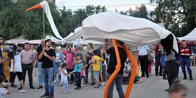 Eskikaraağaç'ta Leylek Festivali