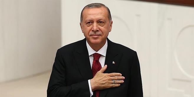 Erdoğan, Bursa'nın kurtuluş yıldönümünü kutladı