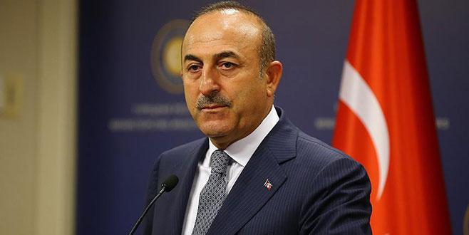 Bakan Çavuşoğlu'ndan 'ABD' açıklaması