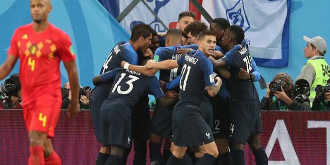 Dünya Kupası'nda ilk finalist belli oldu!