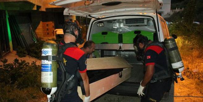 Buzdolabında ceset bulundu! Ceset, Bursa Adli Tıp Kurumu morguna gönderildi
