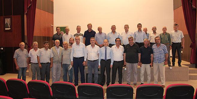 Bursa Ziraat Odaları Yenişehir'de buluştu