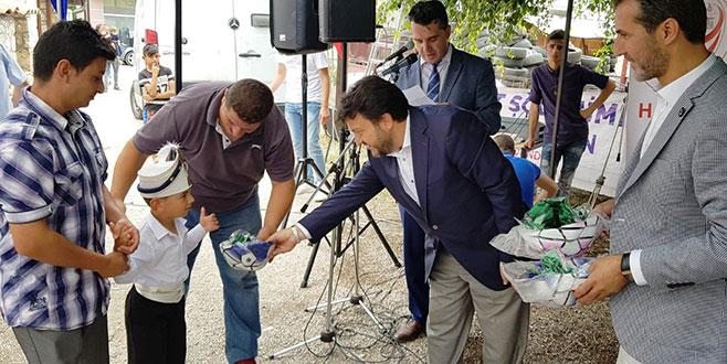Makedonya'da toplu sünnet şöleni