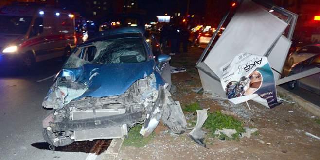 Ehliyetsiz sürücü dehşeti