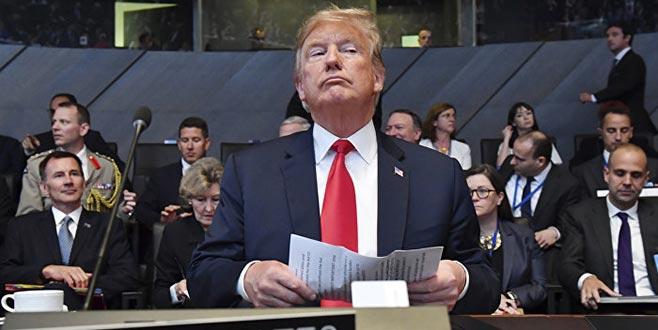NATO zirvesinde Trump show