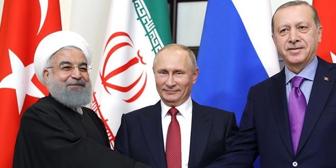 Tahran'da üçlü Suriye zirvesi