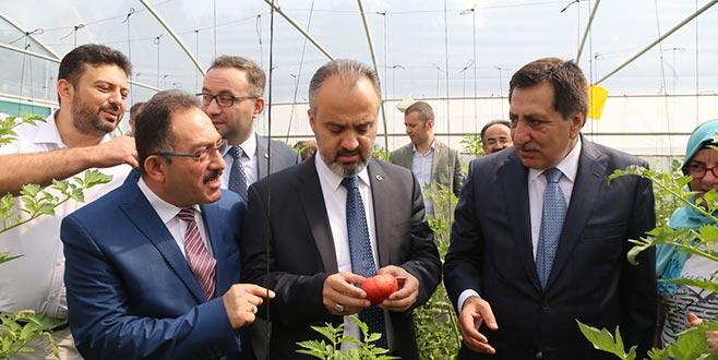 'Tarımın farkındalığını artırıyoruz'