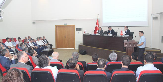 Koordinasyon toplantısında yatırımlar mercek altına alındı