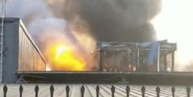 Çin'de patlama: Çok sayıda ölü ve yaralı var