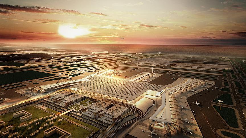 Yeni Havalimanı'ndan ilk uçuşların rotası belli oldu