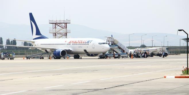 Yenişehir Havalimanı'nda sevindiren gelişme