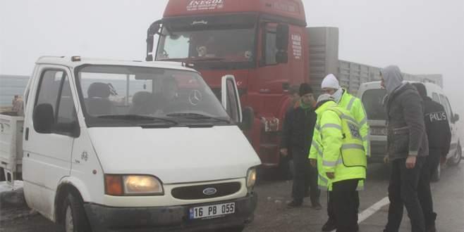 Bursa'da zincirleme kaza: 5 yaralı