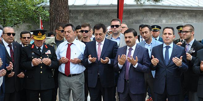 Bursa'da şehitler anıldı