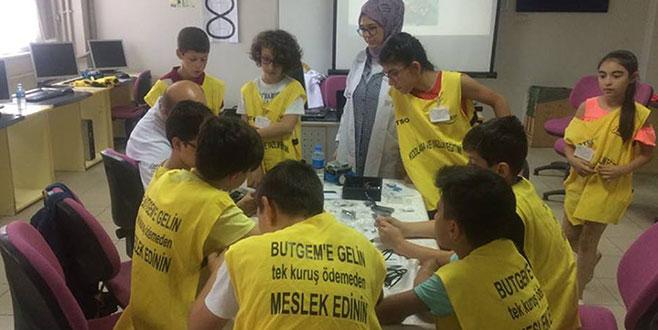 BUTGEM'de yaz kurslarına yoğun ilgi