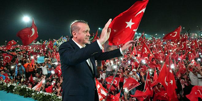 Cumhurbaşkanı Erdoğan: Darbe defterini bir daha açılmamak üzere kapattık