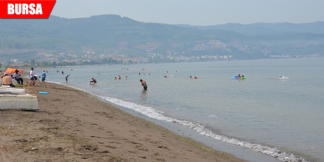 Bursa'da denize girenler dikkat!