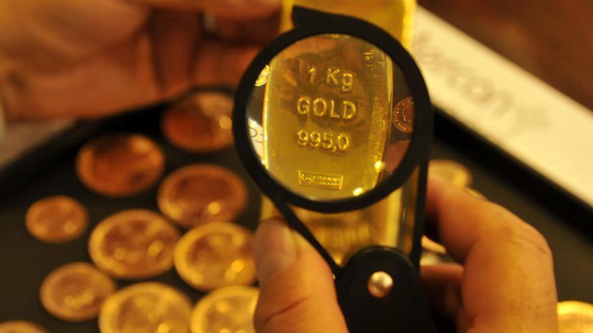 Ons altın 5 haftanın en düşüğünde