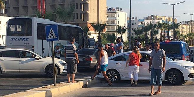 Şüpheli paket paniği: Karayolu trafiğe kapatıldı