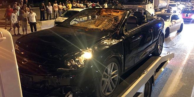 Baba ve kızı kazada hayatını kaybetti