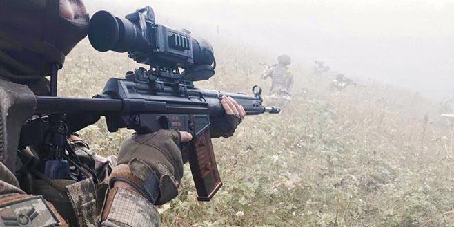 Gümüşhane'de PKK'lı teröristlerle çatışma çıktı