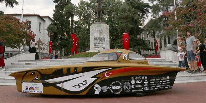 Geleceğin otomobili 'B.O.W İSTKA' Bursa'da