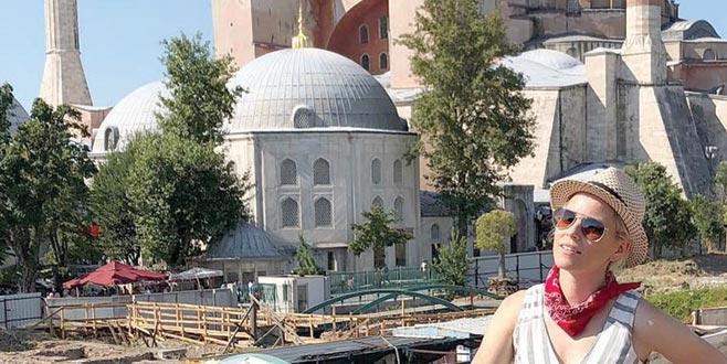 Dünya ünlü oyuncunun İstanbul günlüğü