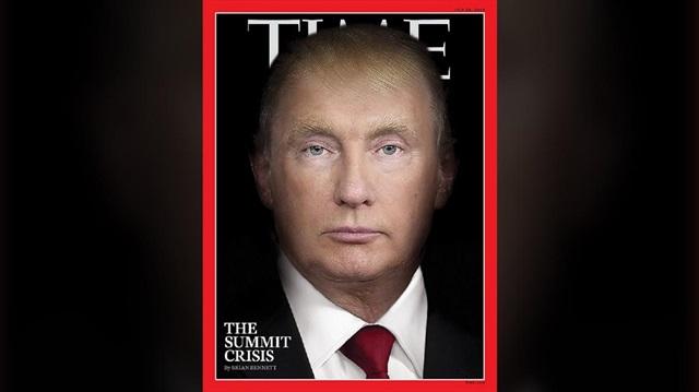 TIME'dan Helsinki sonrası 'Trump-Putin' kapağı