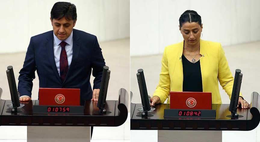 Terörist cenazesine katılan HDP'li milletvekillerine soruşturma