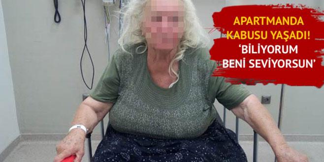 Eve giren sapık, 76 yaşındaki kadına cinsel tacizde bulundu